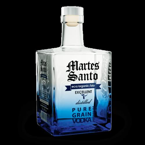Vodka Excellent Organic Pure Grain Premium Martes Santo