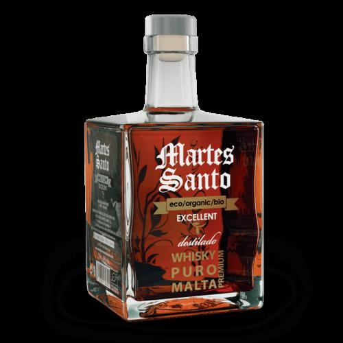 Whisky Puro Malta Excellent Organic Premium Martes Santo