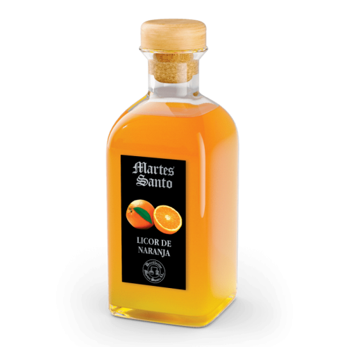 Crema de Naranja Martes Santo