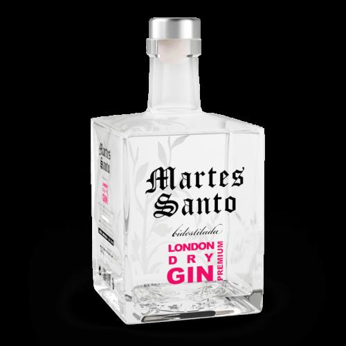 Ginebra Bidestilada London Gin Premium Martes Santo